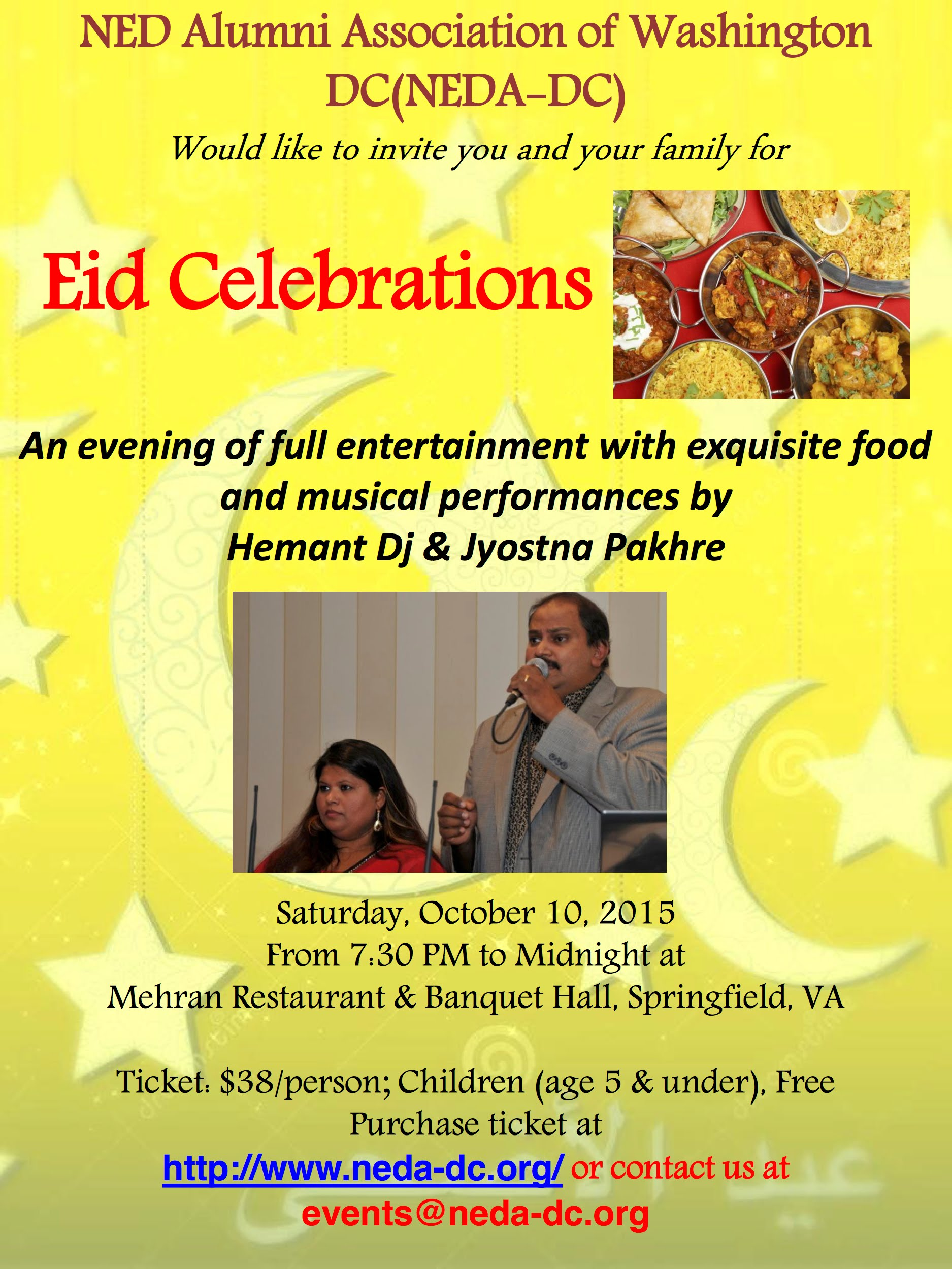 Eid-ul-Azha Celebration 2015